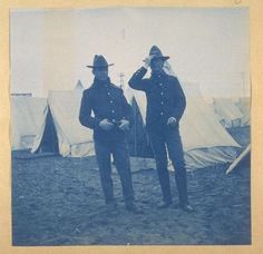 Corporal Emory Smith and Private Walter Turnbull-14th Infantry