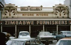 Nyore Nyore Zimbabwe Furnishers - Bulawayo - credit not known Zimbabwe History, Zimbabwe Africa, Small Sewing Projects, Homeland, Childhood Memories, The Good Place, Heartland, Amazing Places, Civilization