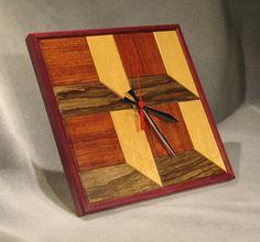 wood wall clock | Wood Accents Wall Clocks