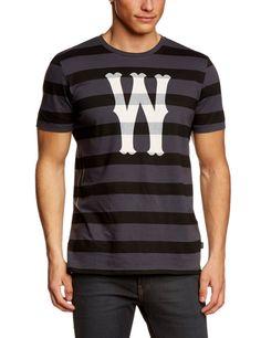 WESC Мужская футболка в полоску Dubby: Amazon.de: Спорт & Отдых