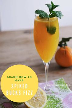Best Summer Cocktails, Best Cocktail Recipes, Fun Cocktails, Buck's Fizz, Watermelon Punch, Cocktail And Mocktail, Gin Lovers, Summer Barbecue, Frozen Drinks