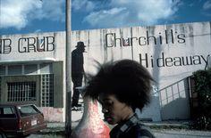 Alex Webb - USA. Miami, FL. 1987. Little Haiti.