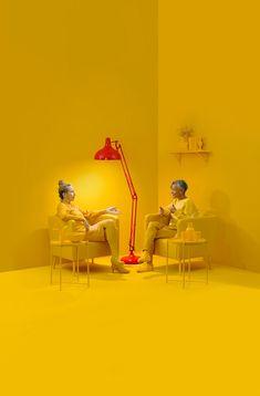 "This Berlin-based photographer creates crisp ""digital paintings"" of people and objects. 3d Studio, Photo Studio, Arte Alien, Foto Fashion, Salford, Communication Art, Ideias Diy, Foto Art, Corporate Design"