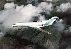 BWIA British West Indies Airways 727-100..
