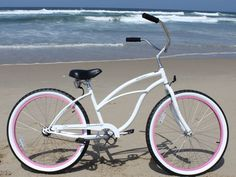 I adore my beach cruiser! Her name is Betty White and she's been a loyal friend!