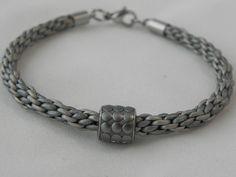 Bracciale+cuoio+argento,+charms+Swarovski+silver++di+SpinzMade+su+DaWanda.com