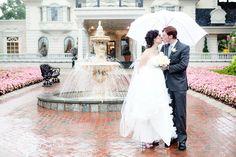 Romantic rainy wedding    *by Kay English Photography NJ at the Ashford Estate