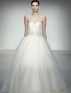 Amsale Blue Label M629 Plaza Couture Bridal Gown