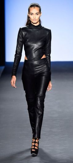 NY: August Getty - Runway - Mercedes-Benz Fashion Week Fall 2015