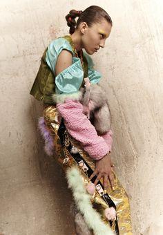 ::: OutsaPop Trashion ::: DIY fashion by Outi Pyy :::: Angela Brandys madness