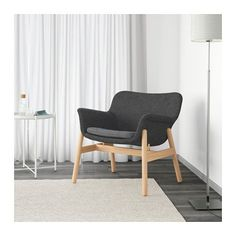 VEDBO Armchair IKEA The timeless design of VEDBO makes it easy to place in various room settings and coordinate with other furniture.