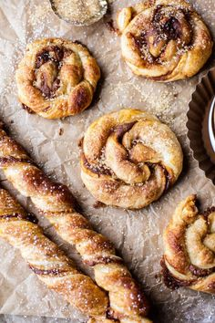 easy twisted pumpkin spice danish - a quick snack, festive, delish, and ready in 30 mins!