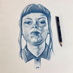 Pale Moon Graphics Ska Gal II #drawing #sketch #illustration #portrait #prismacolor #pencil #ska #art #piirustus #luonnos #kuvitus #muotokuva #taide Pale Moon, Prismacolor, Pencil, Sketch, Graphics, Portrait, Drawings, Illustration, Instagram