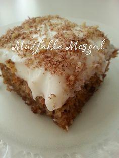 Food and drink dessert Pasta Cake, Cake Recipes, Dessert Recipes, Drink Recipes, Greek Desserts, Recipe Mix, Turkish Recipes, No Bake Cake, Bakery