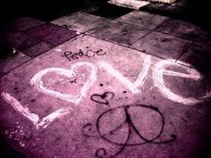peace and love :)