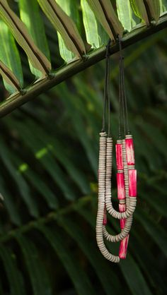 Beaded and layered necklaces from Oliver Bonas.. Get ready for summer.