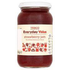 Tesco Everyday Value Strawberry Jam 454G - Groceries - Tesco Groceries