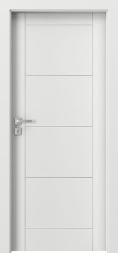 DBEV-VEP-W Single Custom Painted Solid Core Modern Interior Doors, Contemporary Interior Doors, Eco Veneer