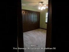 Fire Damage Restoration Before and After