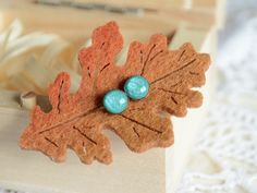 Turquoise stud earrings light blue earrings small by MyPieceOfWood
