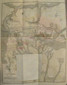 Plan der Schlacht bei Malplaquet – Stellungen vor der Schlacht (© Sammlung akHMG)