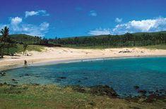 Playa Anakena / Isla de Pascua - Chile