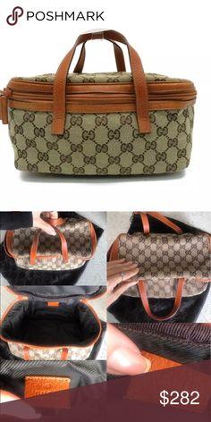 a6e0e8df044 Gucci Vintage Vanity Bag Vintage Vanity Bag Condition  Used