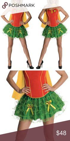 Plus Size Robin Superhero Sidekick Corset Costume $148.00 | Plus Size Corset Costumes | Pinterest | Corset costumes and Corset  sc 1 st  Pinterest & Plus Size Robin Superhero Sidekick Corset Costume $148.00 | Plus ...