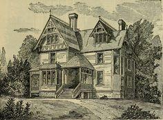 Victorian home illustration, c.1882