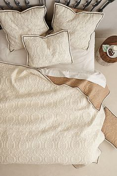 Marseille Coverlet #anthropologie