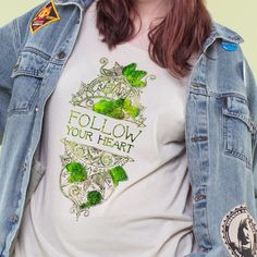 INTRODUCING: FLOWER SPROUTING TEES! on Soul Flower's blog.