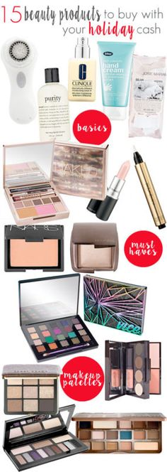 Have holiday cash to spend? These are some of the best beauty items to spend that cash on!