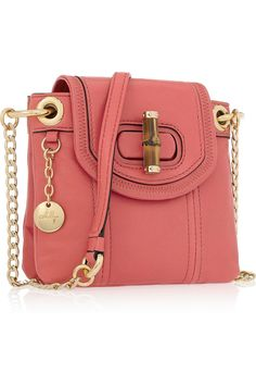 MILLY coral shoulder bag
