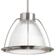 Progress Lighting 1-Light Brushed Nickel LED Pendant-P5143-0930K9 - The Home…