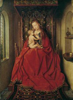 JAN VAN EYCK - LUCCA MADONNA, CA. 1437 | Städel Museum