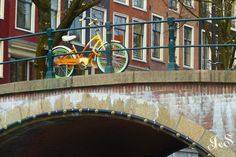 https://flic.kr/p/HrAACX | Orange bicycle