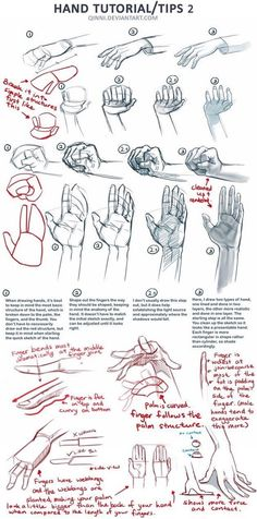 drawing, tutorial, and hand image