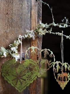 Wistfully Country, valscrapbook: inspiration-at-work: rustic hearts