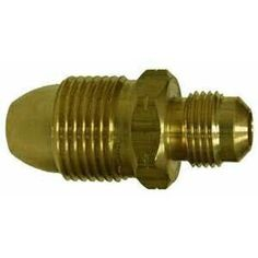 34046 | Midland | 1/2 FLARE X POL ADAPTER | Brass Fittings | POL | Adapter