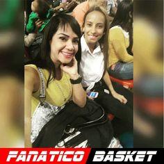 by @dayanarac28 #FanaticoBasket  Con mi @xiolimarmuni17 #Juego #Guaros  @fanaticobasket