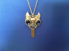 Large Owl Key Necklace by CutesyandFun on Etsy