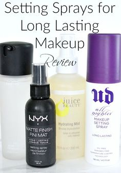 Setting Sprays for Long Lasting Makeup