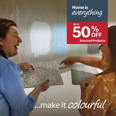 Home is everything..make it colourful with up to 50% off selected paint & decor products. Bunt, Everything, Paint Decor, Bedroom Decor, Make It Yourself, Cambridge, How To Make, Amp, Painting