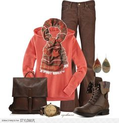fall outfits polyvore | Casual Fall Outfit - Polyvore na Stylowi.pl