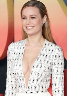 Brie Larson at the red carpet arrivals for the European premiere of Kong: Skull Island in London on February 28, 2017