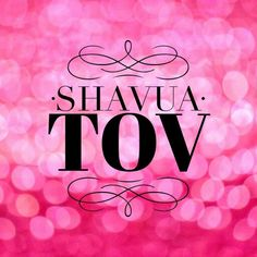 #ShavuaTov  -  Have a good week!!