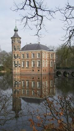 Bouvigne castle at the Mastbos in Breda, the Netherlands