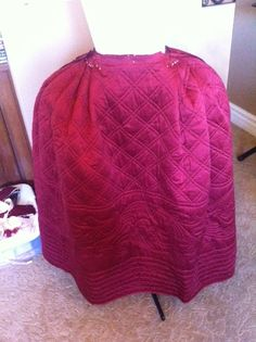 Tutorial: Measuring and pleating of 18th century petticoat - somewhat general directions