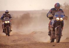 Historia Africa Twin XRV 650, nacida en el Dakar | EnduroPro