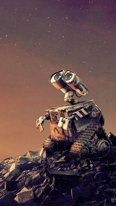 Disney iPhone Wallpaper: Wall-E
